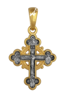 «Распятие. Прп. Серафим Саровский. Икона Богоматери «Всех радостей Радость»