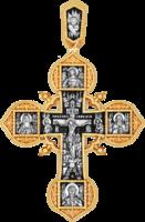 «Крест древнерусский со святыми мужами и Ангелом Хранителем»