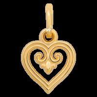 Подвеска «Процветшее сердце. Заповедь любви»