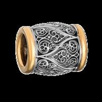 Бусина «Византийские узоры»