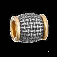 Бусина «Корзиночное плетение»