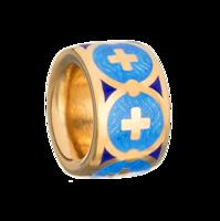 Бусина-разделитель «Крест в круге»