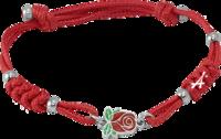 Браслет с христианским символом «Роза»